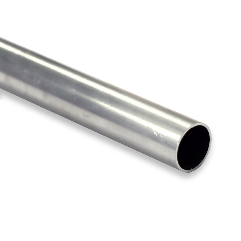 Tube aluminium naturel sur-mesure